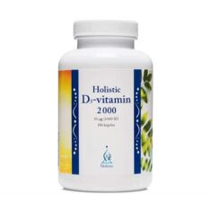 Holistic D-vitamin 2000IE 180 kaps