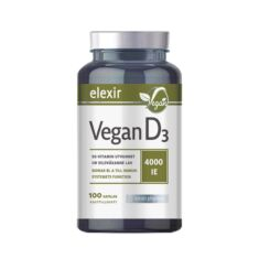 Elixir D3 Vitamin Vegan 4000 IE 100 kaps