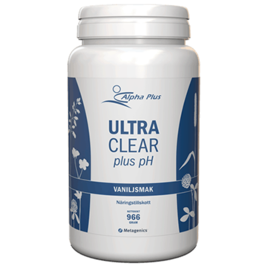 Alpha Plus Ultra Clear plus pH Vaniljsmak 966 g