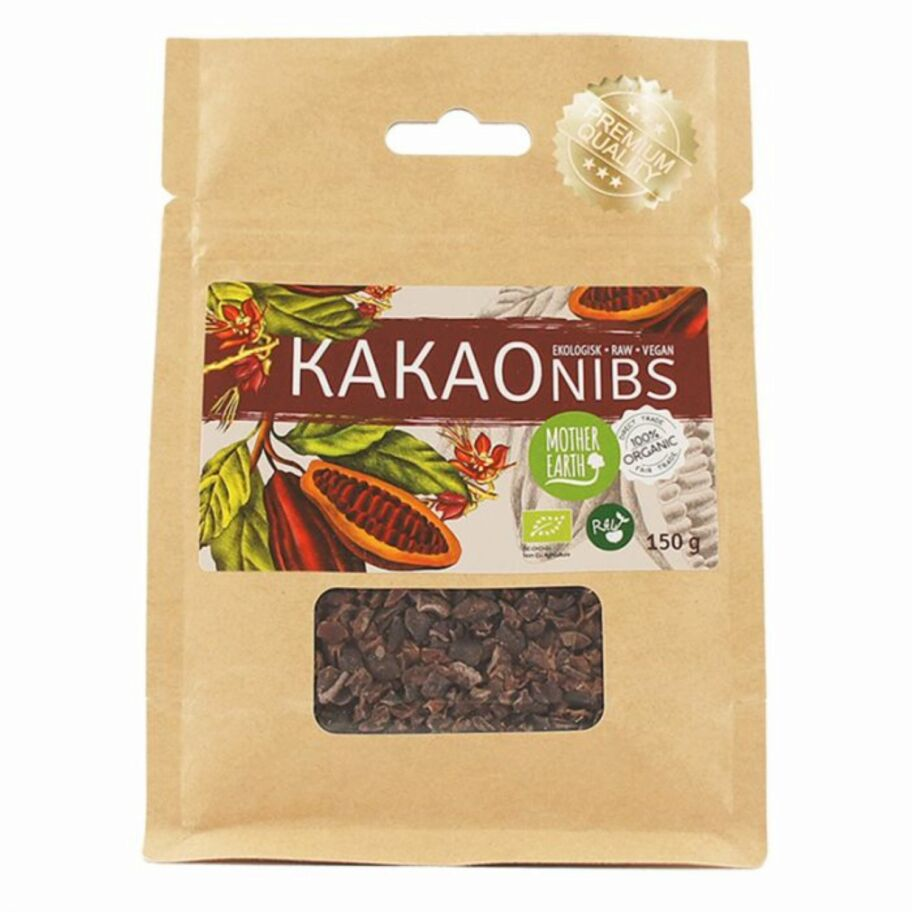 Mother Earth Kakaonibs Eko 150 g