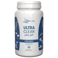 Ultra Clear plus pH Vaniljsmak 966 g - Näringspulver