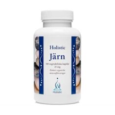 Holistic Järn 25mg 100 kaps