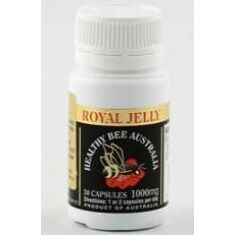 Royal Jelly 1000mg 60 kapslar - Bidrottninggele