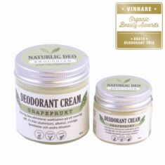 Ekologisk deodorant cream Grapefrukt 60 ml