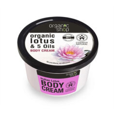 Body Cream Indian Lotus 250ml
