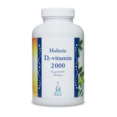 Holistic D3-vitamin 2000 IE 360 kaps
