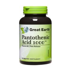 Pantothenic Acid B5 1000 mg 90 tabl