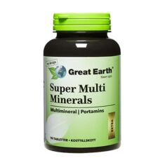 Super Multi Minerals Extra 90 tabletter
