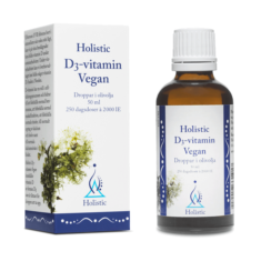 Holistic D3-vitamin Vegan 50 ml - Droppar i olivolja