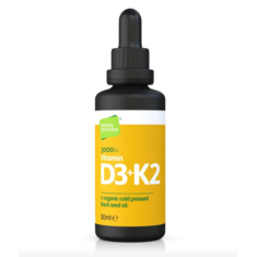 D3 & K2 i svartkumminolja 30 ml