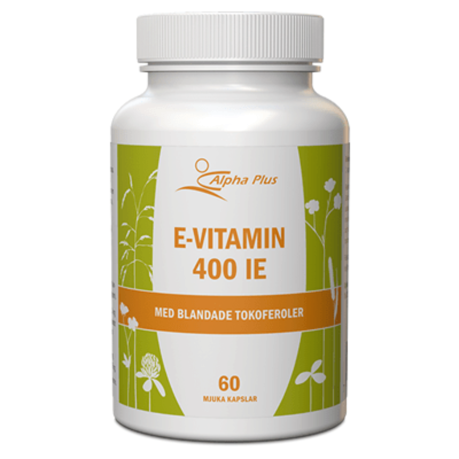Alpha Plus E-vitamin 400 IE 60 kaps