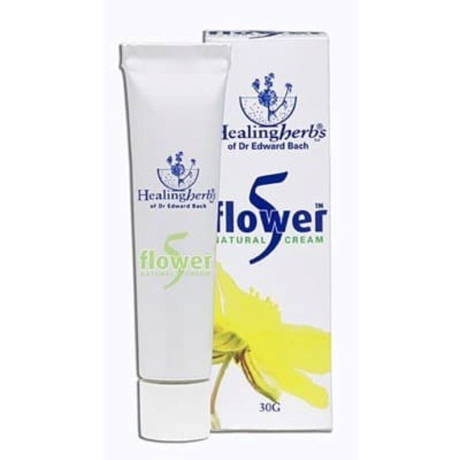 Healing Herbs 5 Flower Cream 30g