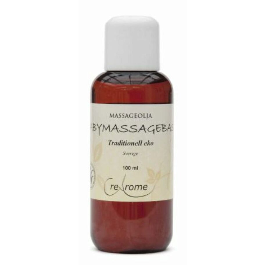 Crearome Massageolja Baby Eko 100 ml