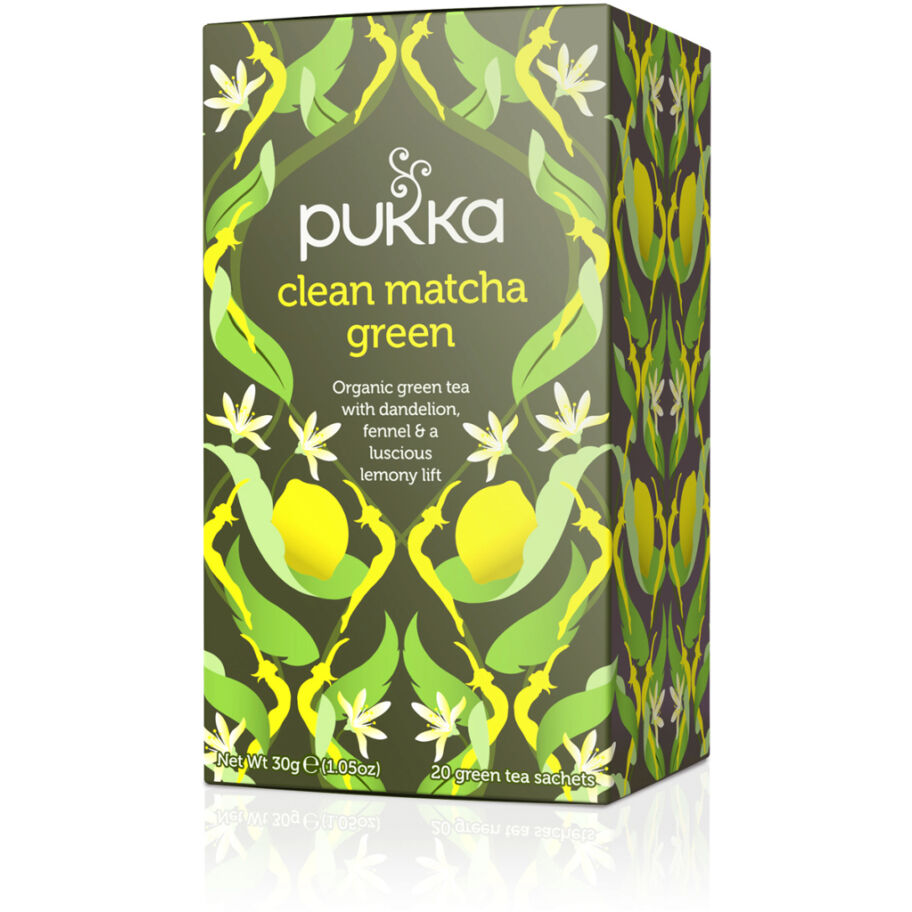 Pukka Te Clean Matcha Green