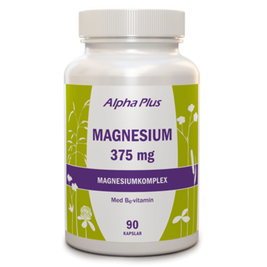 Alpha Plus Magnesium 375 mg 90 kaps