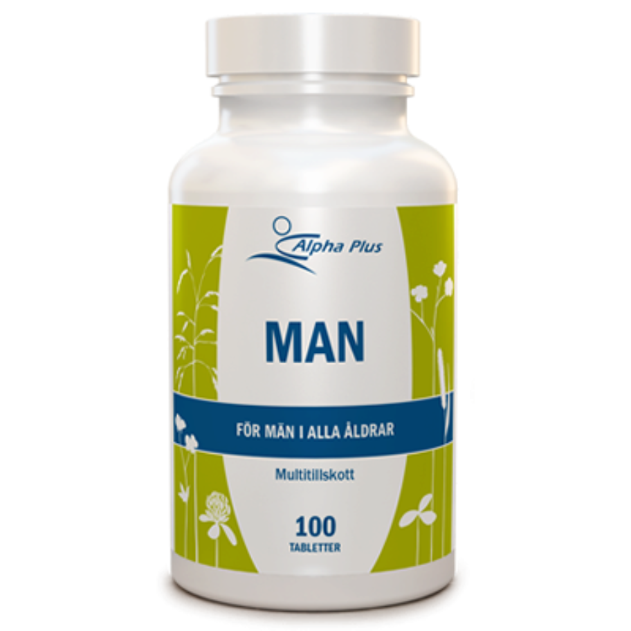 Alpha Plus Man 100 tabl