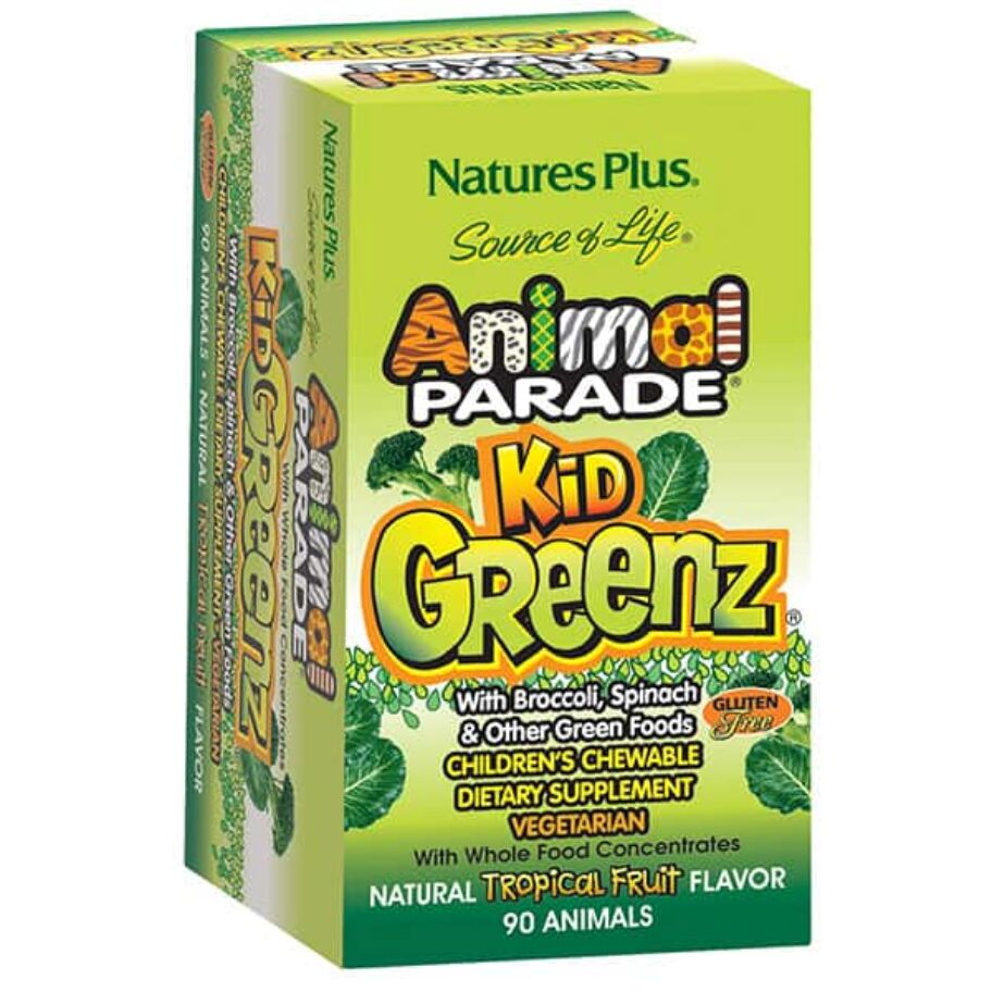 Nature's Plus Animal Parade KidGreenz 90 tabl