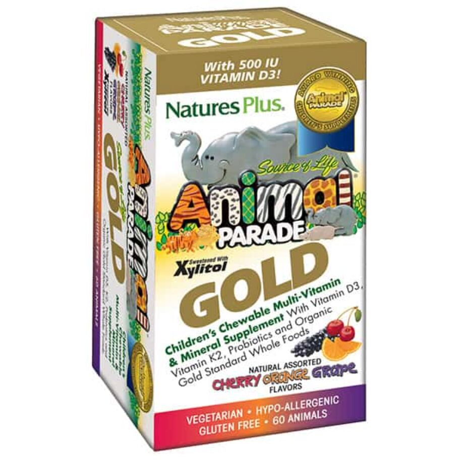 Nature's Plus Animal Parade GOLD 60 tabl
