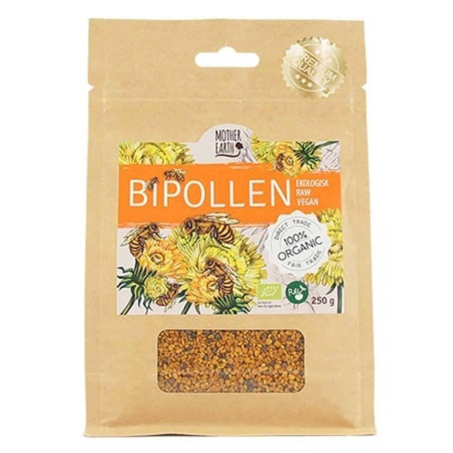 Mother Earth Bipollen spansk RAW 150 g