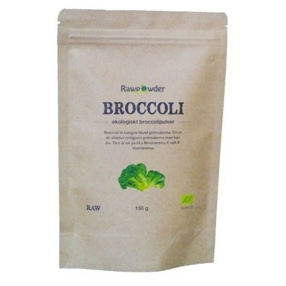 Rawpowder Broccoli Pulver eko 150 g
