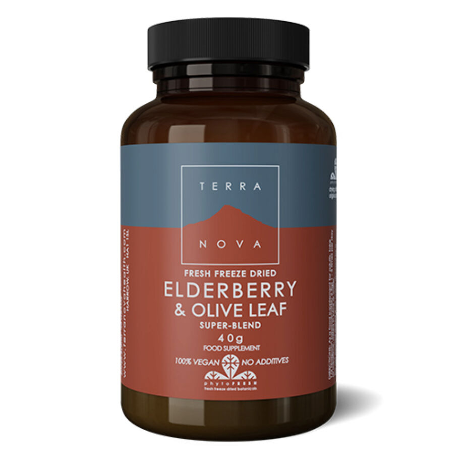 TerraNova Elderberry & Olive Leaf Blend 40 g