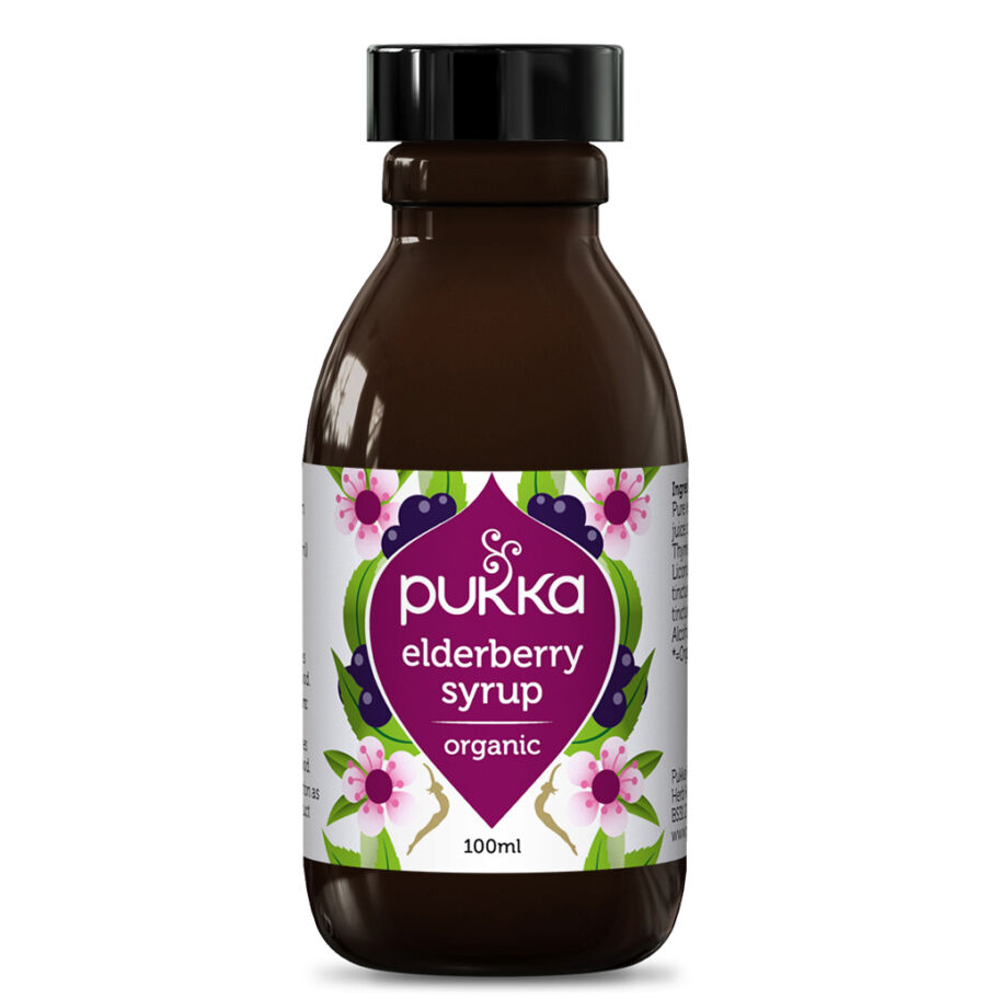 Pukka Flädersirap - Elderberry Syrup 100 ml