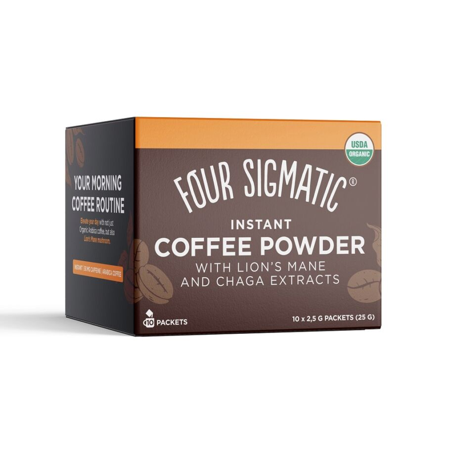 Four Sigmatic Mushroom Coffee Mix Lion's Mane 10 st