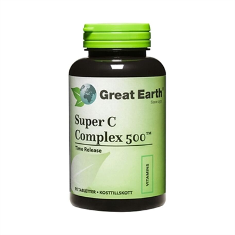 Great Earth Super C Complex 500 60 tabl