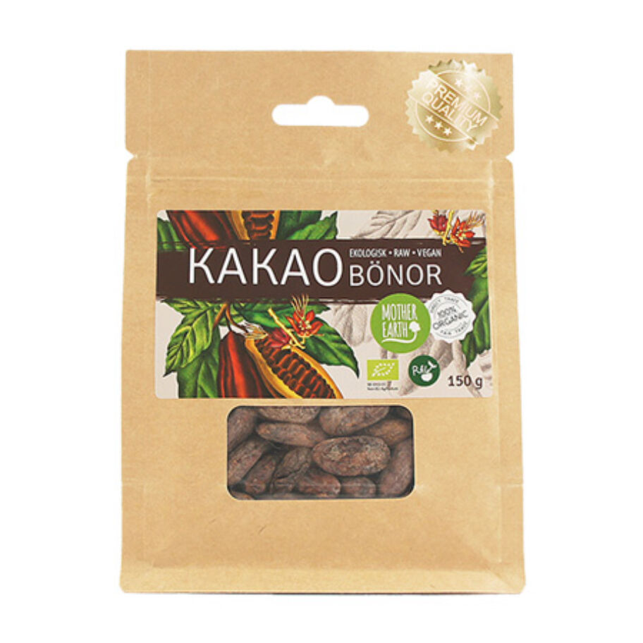Mother Earth Kakaobönor Eko 150 g