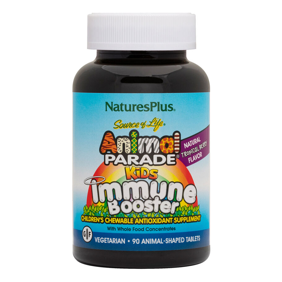 Nature's Plus Animal Parade Kids Immune Booster 90 Tuggtabl