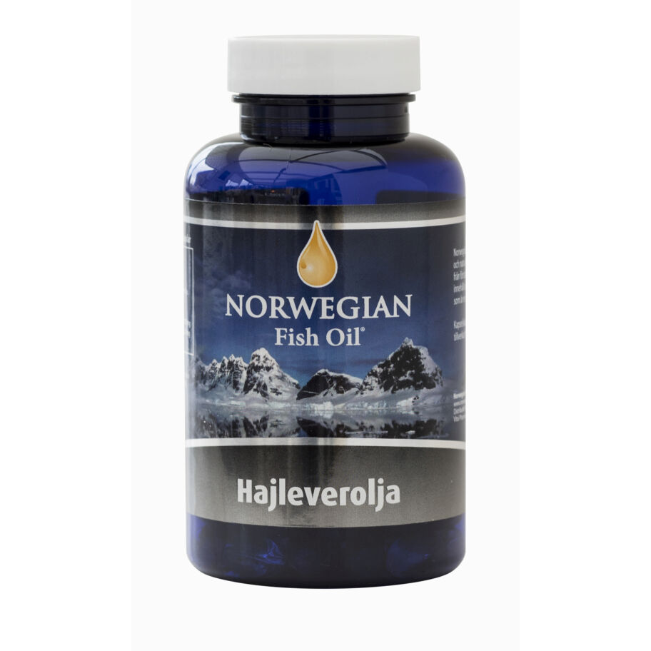 Norwegian Fish Oil AS Hajleverolja 120 kaps