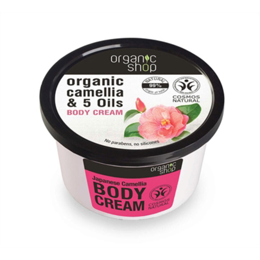 Organic Shop Body Cream Japanese Camellia 250 ml