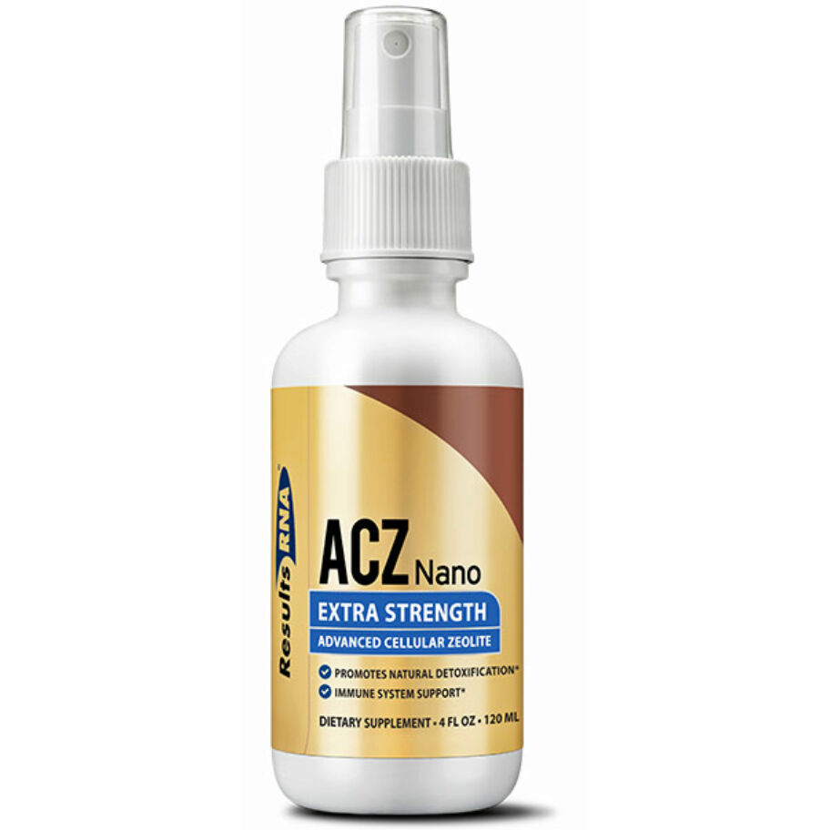 Results RNA ACZ Nano Zeolite Extra Strength 60 ml