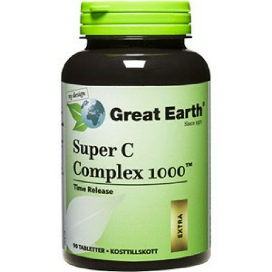 Great Earth C-Vitamin Complex 1000 60 tabletter