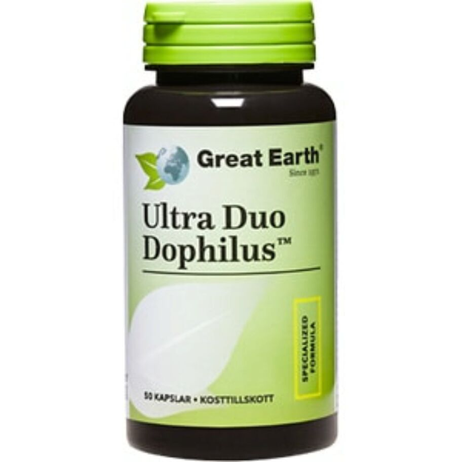 Great Earth Ultra Duo Dophilus 50 kapslar