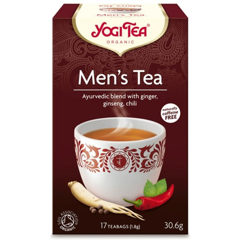 Yogi Tea Te Men's Tea 17 pås