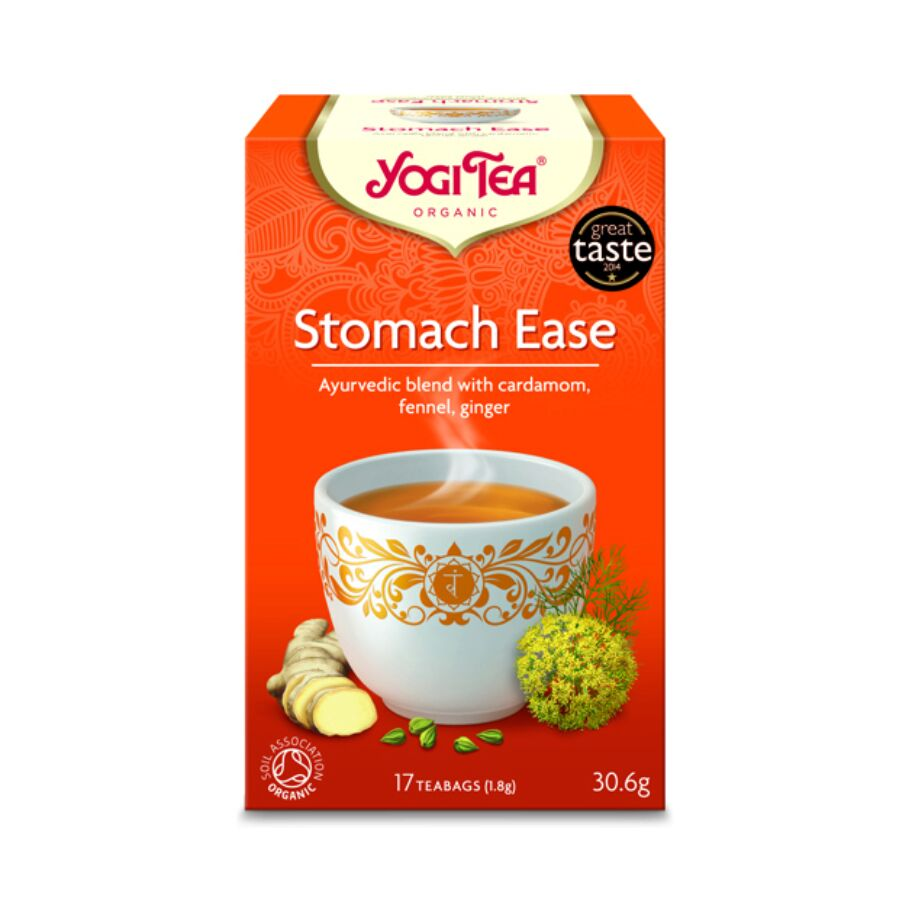 Yogi Tea Te Stomach Ease 17 pås