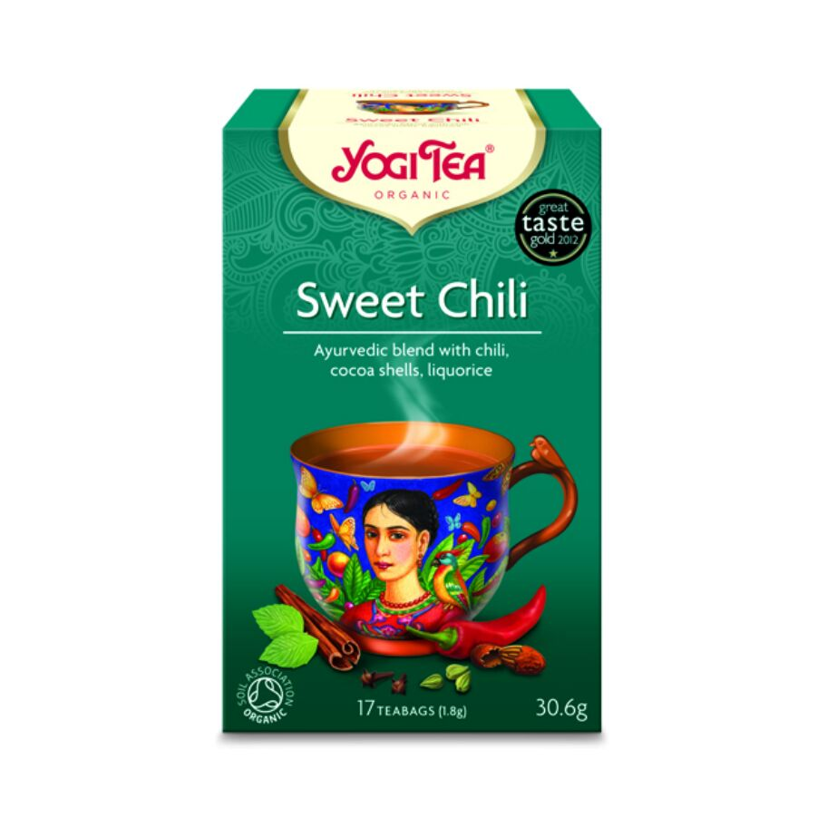 Yogi Tea Te Sweet Chili 17 pås